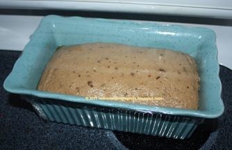 Cinnamon Dried Fruit Bread - rising just perfectly B