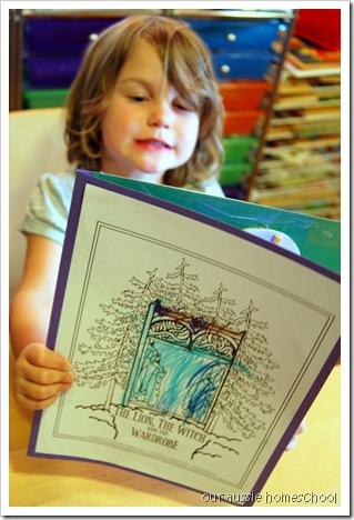 Lion, Witch, Wardrobe Lapbook ~ Our Aussie Homeschool