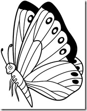 colorear mariposas pintaryjugar com (23)
