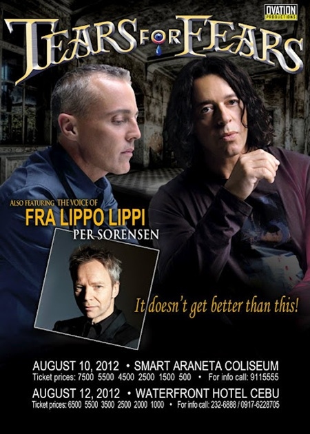 Tears For Fears and Per Sorensen live in Manila