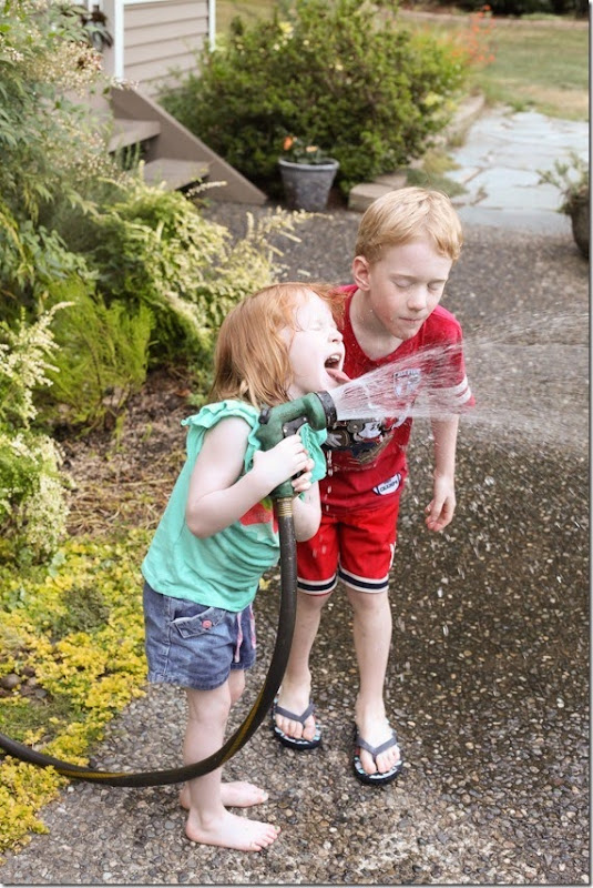 kids drinking from the hose (15)-small