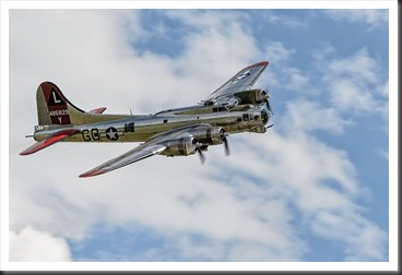 "B-17G ""FLYING FORTRESS"" Yankee Lady"