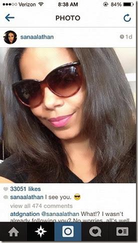 sanaa_lathan_selfie