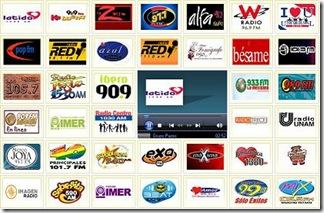 gratis radio en linea en mexico todas las estaciones fm Mexico df Guadalajara monterrey puebla