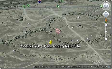 rally site turn-off trails