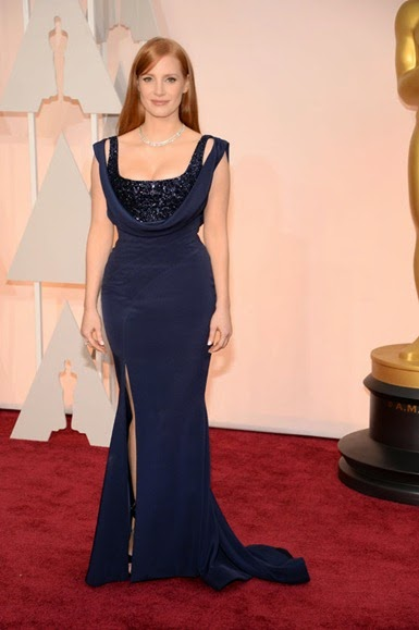 Jessica Chastain de Givenchy