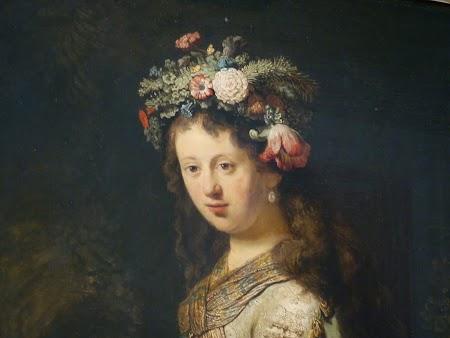 Muzeul Ermitaj: Nevasta lui Rembrandt