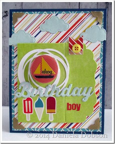 Birthday boy by Daniela Dobson