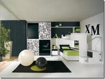 Decoraci n de dormitorios juveniles para varones for Decoracion de oficinas juveniles