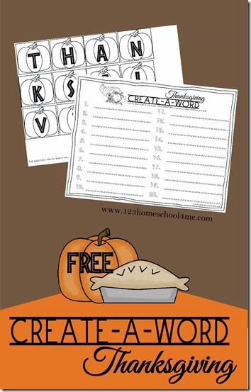 FREE Thanksgiving Spelling Activity! What a fun way for kids to practice making words with a fun, seasonal twist! (Free printable, spelling, thanksgiving, kindergarten, 1st grade, 2nd grade, 3rd grade, 4th grade)