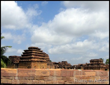 Ruins in Aihole