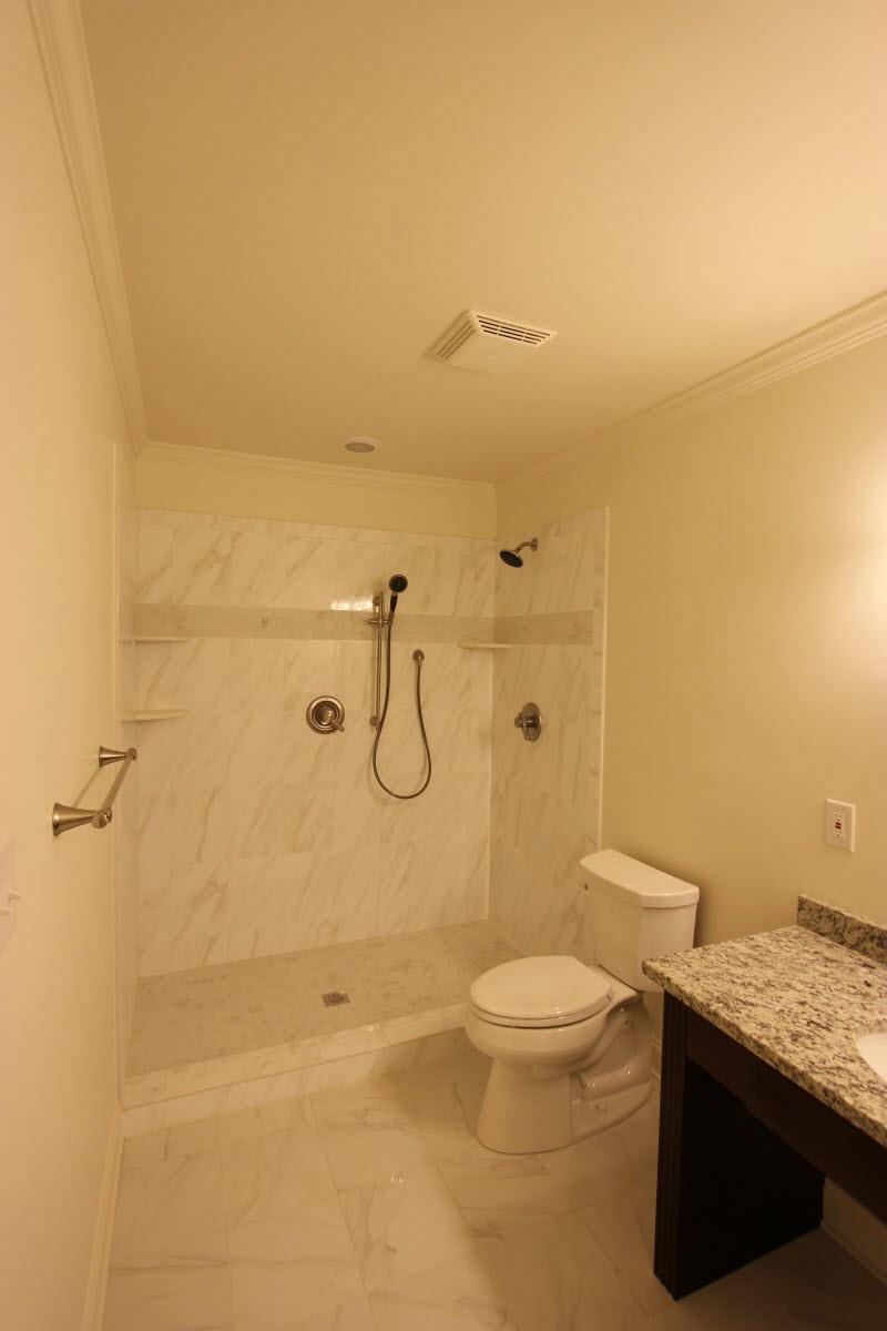 Tidewater virginia marshall bathroom for Bathroom remodel under 500