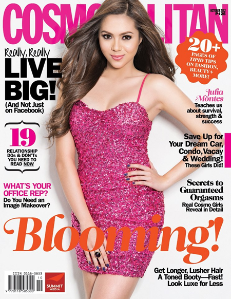 Julia Montes covers Cosmo Ph Oct 2012