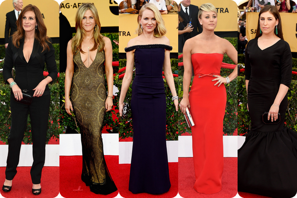 Alfombra roja SAG Awards 02 Kaley Cuoco