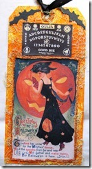 Halloween Witch Tag