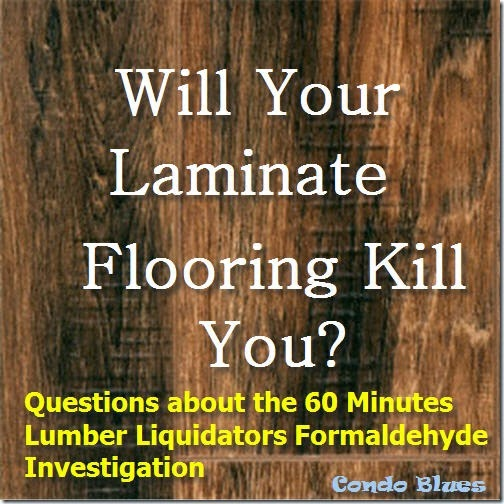 Questions About Lumber Liquidators And Formaldehyde