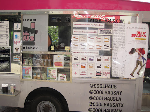 The Coolhaus ice cream truck in Union Square.