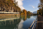 Train through Interlaken