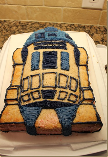 R2D2 partially filled
