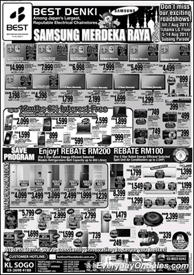 best-denki-samsung-2011-EverydayOnSales-Warehouse-Sale-Promotion-Deal-Discount