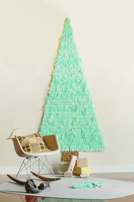 Giant DIY Wall Christmas Tree