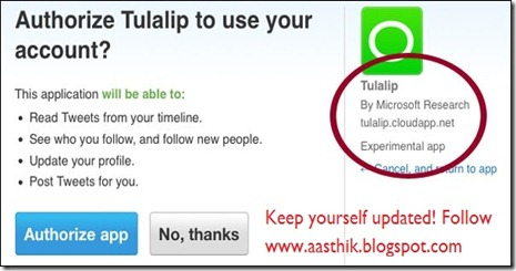 Microsoft Social Search Network Tulalip
