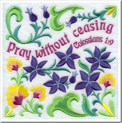 pray without ceasing