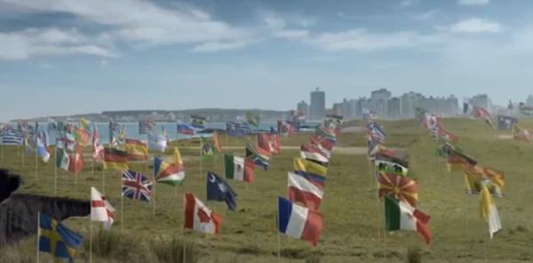 Banderas almundo