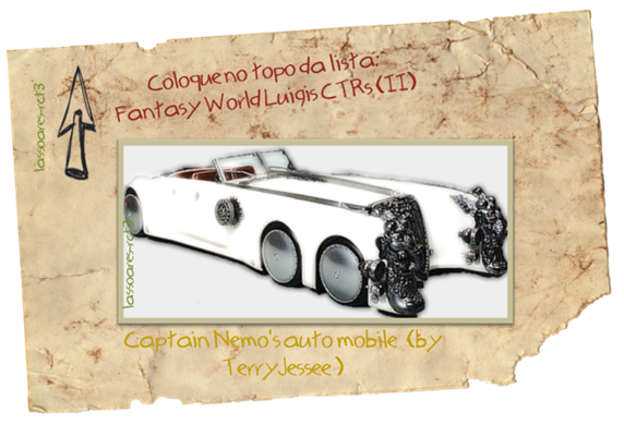 Fantasy World Luigis CTRs (Captain Nemo's auto mobile by TerryJessee)lassoares-rct3
