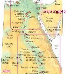 01 - Mapa del Antiguo Egipto 1