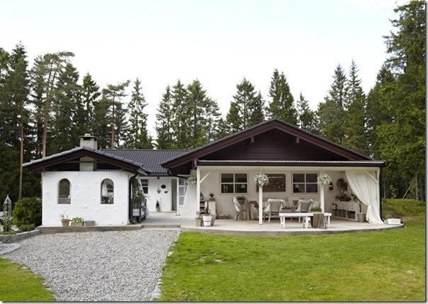 case e interni - casa Norvegia - Scandinavia -  shabby chic - bianco (12)