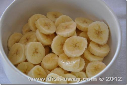 Banana and Vanilla Pudding Recipe by www.dish-away.com