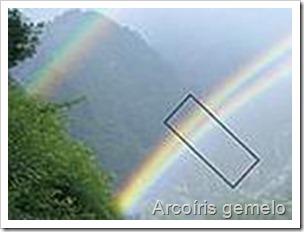 arcoiris hermanado o gemelo