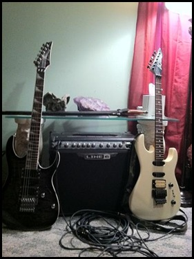 guitars and amp