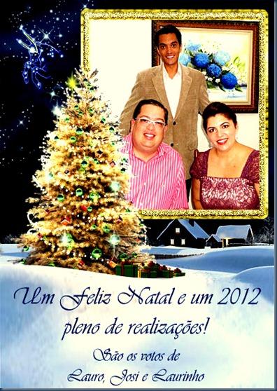 Cartão de Natal - Família Borges