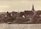 """Scharmbeck - von der Lindenstraße aus gesehen; aus J. Segelken """"Heimatbuch"""", 1938"""