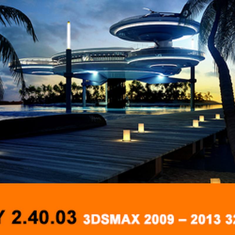VRay 2.40.03 for 3dsMax 2009 – 2013 32/64bit
