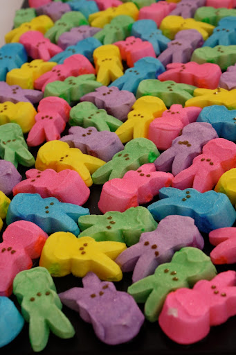 Peeps bunnies are adorable, too.
