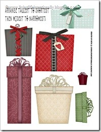 Sorting Christmas Presents Free Worksheet