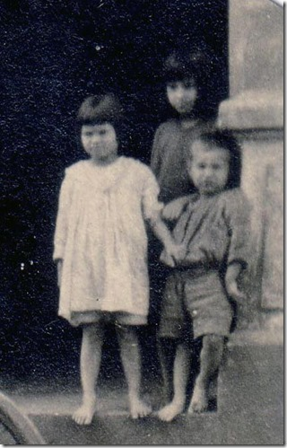 Frederick Webster's Children Carlota and Edna and Debs