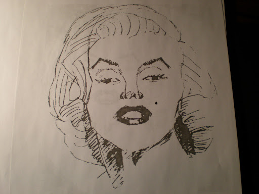 Marilyn Monroe Sketches