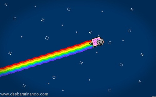 nyan cat wallpaper meme desbaratinando (8)