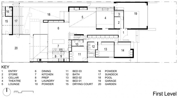 plano-Robinson-Road-House-Steve-Domoney-Arquitectura