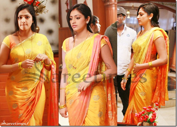 Hari_Priya_Yellow_Saree
