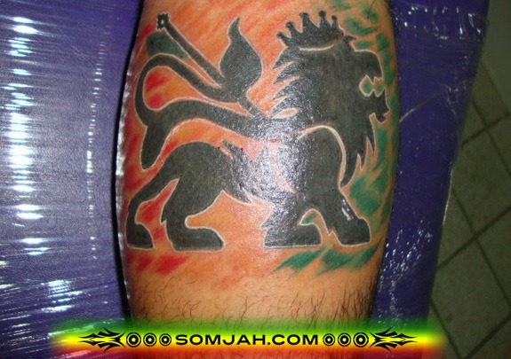 Tatoo Reggae SOMJAH 01