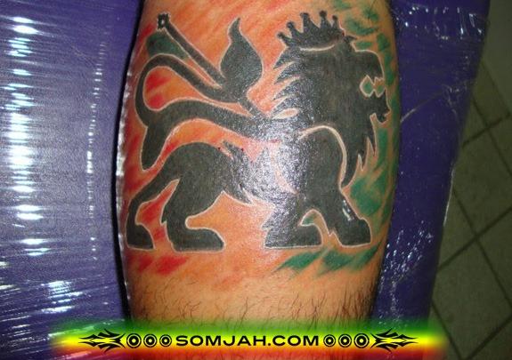 Tatoo Reggae SOMJAH 01
