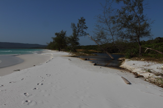 Your own private Long Beach on Cambodia's Koh Rong Island