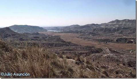 Panorámica desde el poblado de la Edad del Bronce de El Tabayá - Aspe