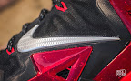 nike lebron 11 gr black red 10 04 New Photos // Nike LeBron XI Miami Heat (616175 001)