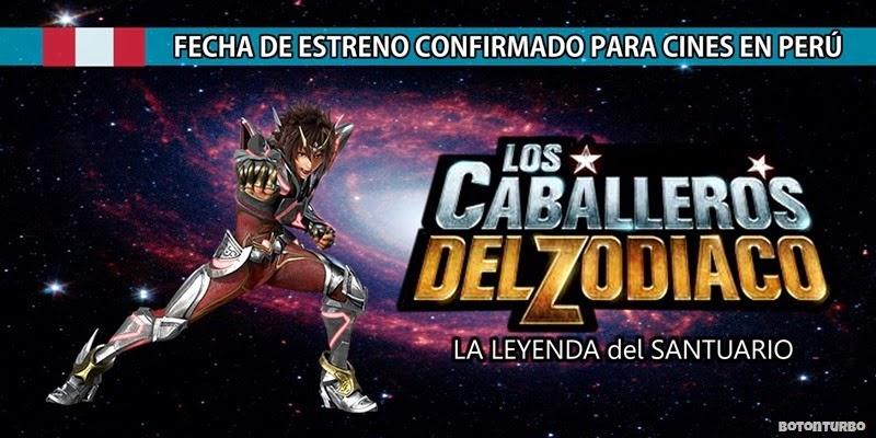 PERÚ: ¡Revelada la Fecha de estreno de la Película de los Caballeros del Zodiaco!